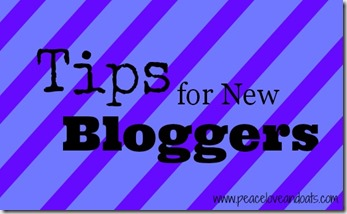 Tips for New Bloggers–Part 2