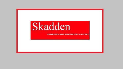 Skadden Follows the Leader in Setting their 2013 Christmas Bonuses