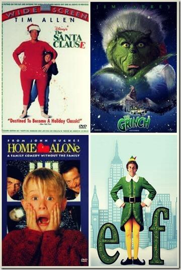 xmas movie collage