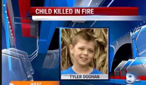 8 Year Old Hero Saves Family in Fire