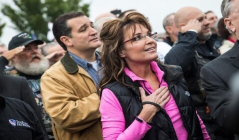 "Sarah Palin Tells Obama ""Stop Playing the Race Card"""