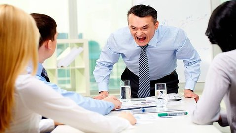 Man Fulfills Childhood Dream of Becoming that Angry Boss who is Always on Everyone's Case