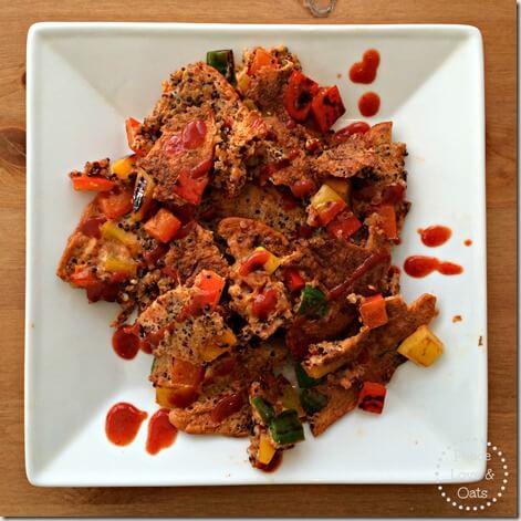 Veggie Quinoa Pancake – WIAW