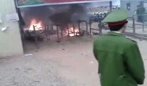 Samsung Factory Site Riot In Vietnam