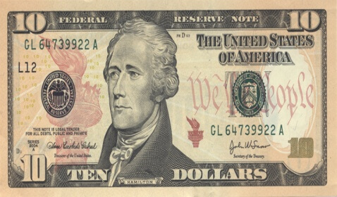 Alexander Hamilton Graces the $10 Bill but Was Never President