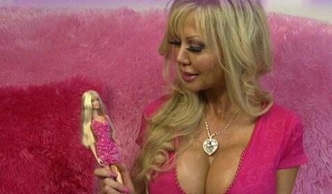 Blondie Bennett, a 38-year-old Human Barbie