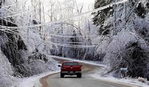 Winter Ice Storm Cripples South as Thousands Lose Power