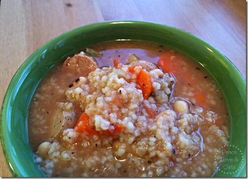 Italian Chicken Sausage Soup 2