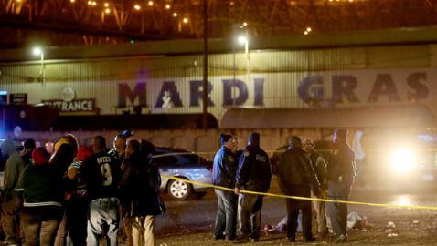 Two Men Killed in Shootings Outside of Mardi Gras World on Fat Tuesday