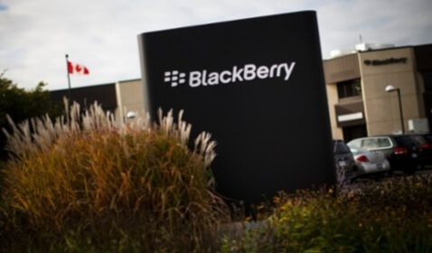 Blackberry Sues Former Executive Vice President of Development