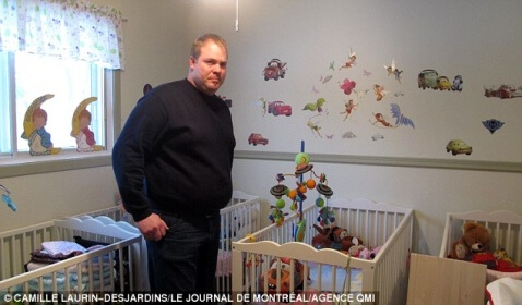 Canadian Man's Girlfriend Fakes Quintuplet Pregnancy