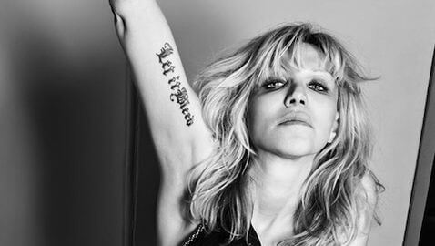 Courtney Love Has Theory for Missing Malaysia Airlines Flight 370