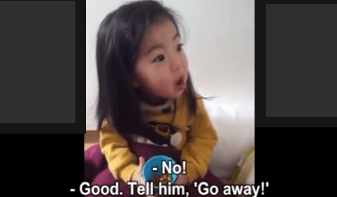 Cute Baby Tries to Learn 'No, Means No'