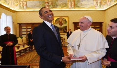 President Barack Obama and Pope Francis Met for the First Time