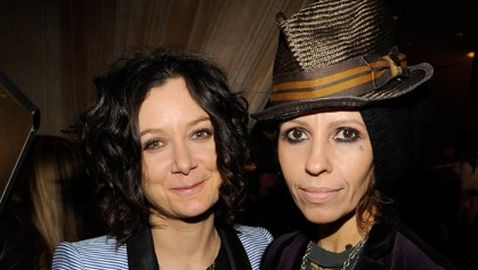 Sara Gilbert and Linda Perry Tie the Knot