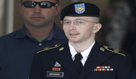 Bradley Manning Changes Legal Name to Chelsea Elizabeth Manning