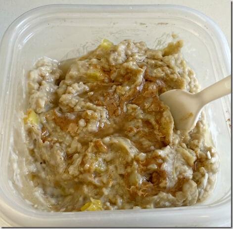 pina colada oatmeal 2