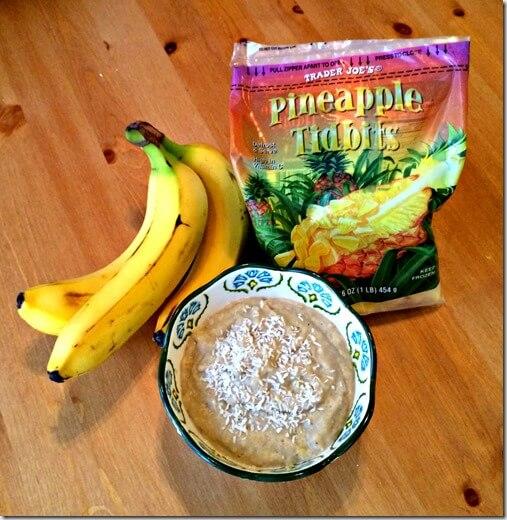 pina colada oatmeal 3