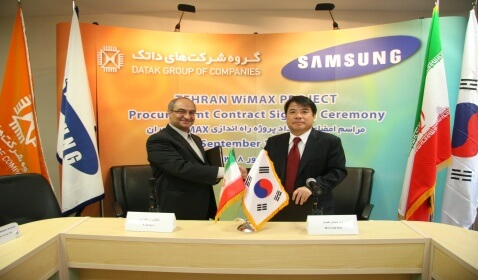 SingTel Telecom and Samsung Announce Partnership