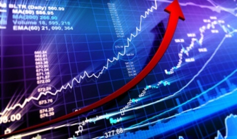 U.S. Stocks Fluctuated, Standard & Poor's Index Approached Record