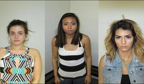 'Twerking' Women Arrested Outside City Hall