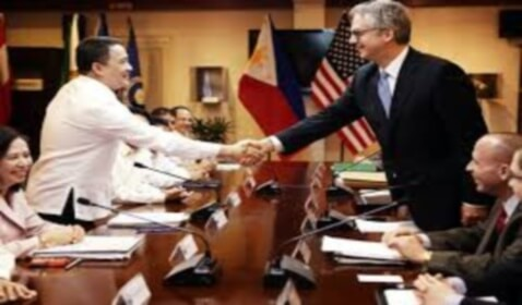 "The Philippines and the U.S. Sign ""Enhanced Defense Cooperation"" Pact"