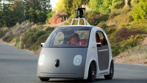New Driverless Car from Google Does Not Have Steering Wheel or Brake Pedal