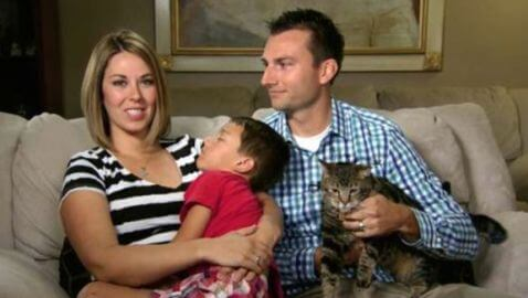 Hero Cat Saves Boy from Vicious Dog Attack in Bakersfield