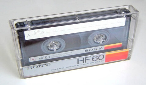 Sony's New Cassette Could Store 47 Million Songs