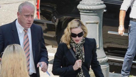 Madonna Appears for Jury Duty in New York