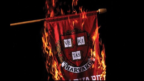 yale in flames