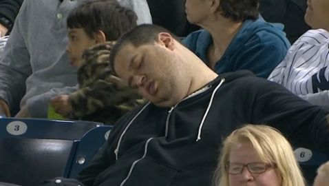 ESPN and New York Yankees Sued by Sleeping Fan