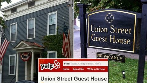 Union Street Guest House Threatens Guests with Fines for Negative Reviews