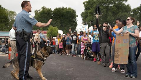 Lawyers in Ferguson to Videotape Protests Taken into Custody