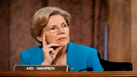 Senator Elizabeth Warren Demands Criminal Charges for Bankers Responsible for Financial Crisis