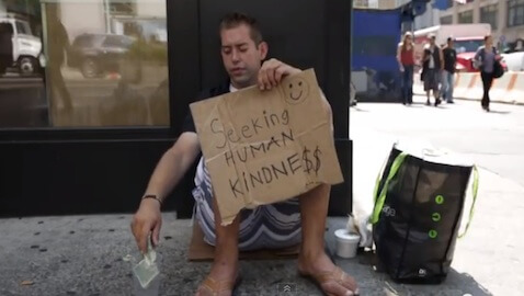 Homeless Man Survives with One-Night Stands