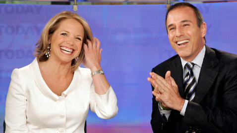Katie Couric Matt Laurer