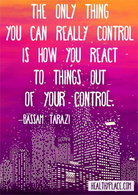 Don't Let Life Take Control Of You