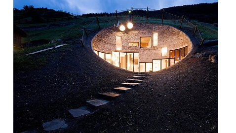 Amazing Pictures of Underground House