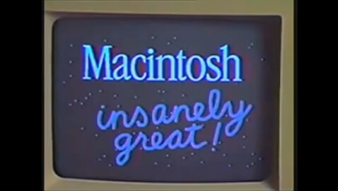 Watch This Video of The First Macintosh Being Unveiled 30 Years Ago by Steve Jobs