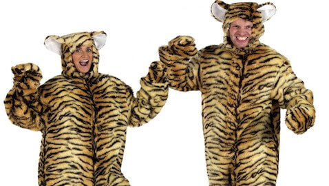 Tiger Costume Fools Police, Man Charged with Possessing Bestiality Porn