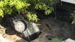 Sinkhole in Florida Swallows Car