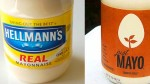 "Owner of Hellmann's Sues Maker of ""Just Mayo"" for False Advertising"