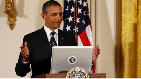 Obama Makes Stand on Net Neutrality