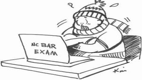 The author attempts to explain why so many students are failing the bar exam.