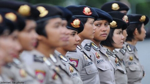 Female Police Must be Virgins in Indonesia