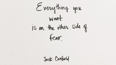 Don't Let Fear Stop You From Becoming Who You Want to Be