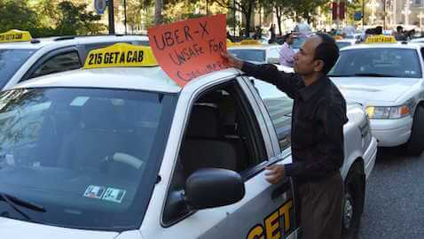 Uber Facing More Legal Trouble as Philadelphia Cab Companies File Suit
