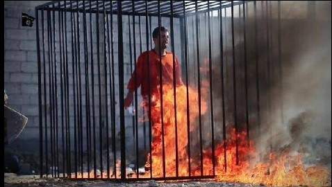 ISIS Burns Pilot Alive, Jordan Executes Two Jihadists in Response