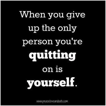 When-you-give-up